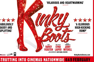Kinky Boots - The Musical (12A TBC)